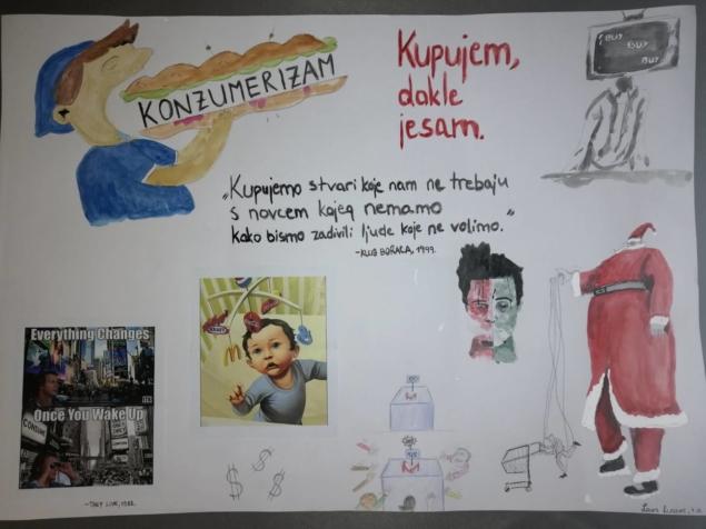 2 Konzumerizam - plakat