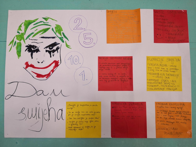 5 Vrste i funkcije smijeha - plakat
